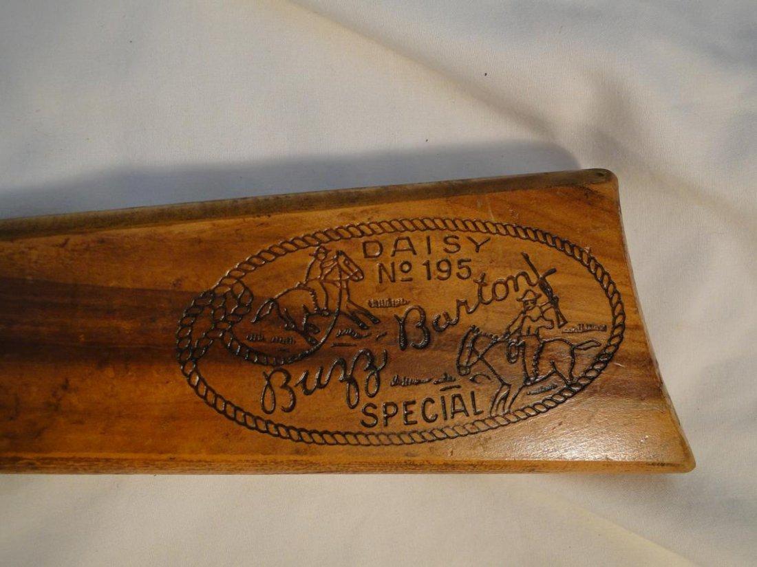 """A Daisy No. 195 """"Buzz Barton Special"""" BB gun - 2"""