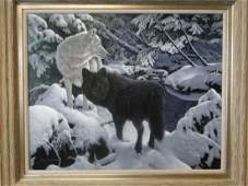 An original painting by Jerry Gadamus entitled