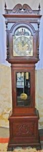 A 1890's quality grandfather clock.  Case made in