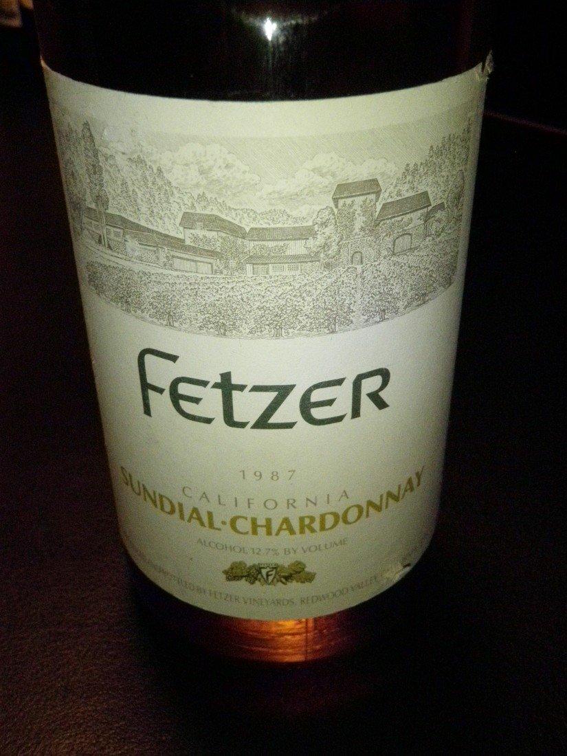 2: Sundial Chardonnay – 1987