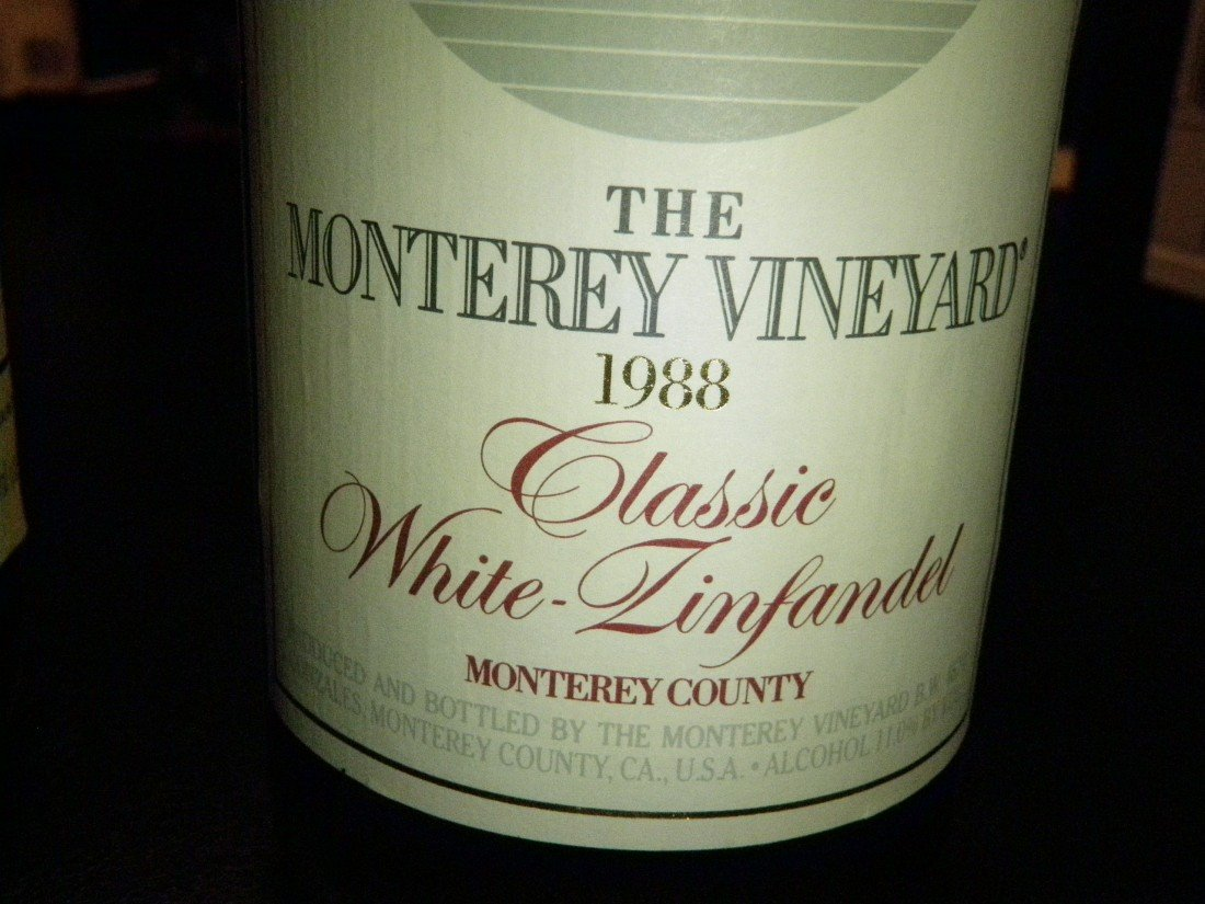 4: Classic White Zinfandel – 1988