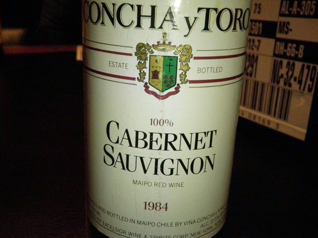 8: Cabernet Sauvignon – 1984