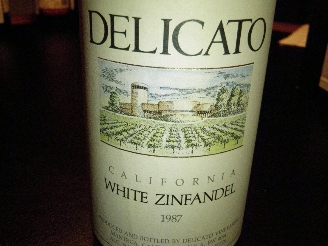 11: California White Zinfandel – 1987
