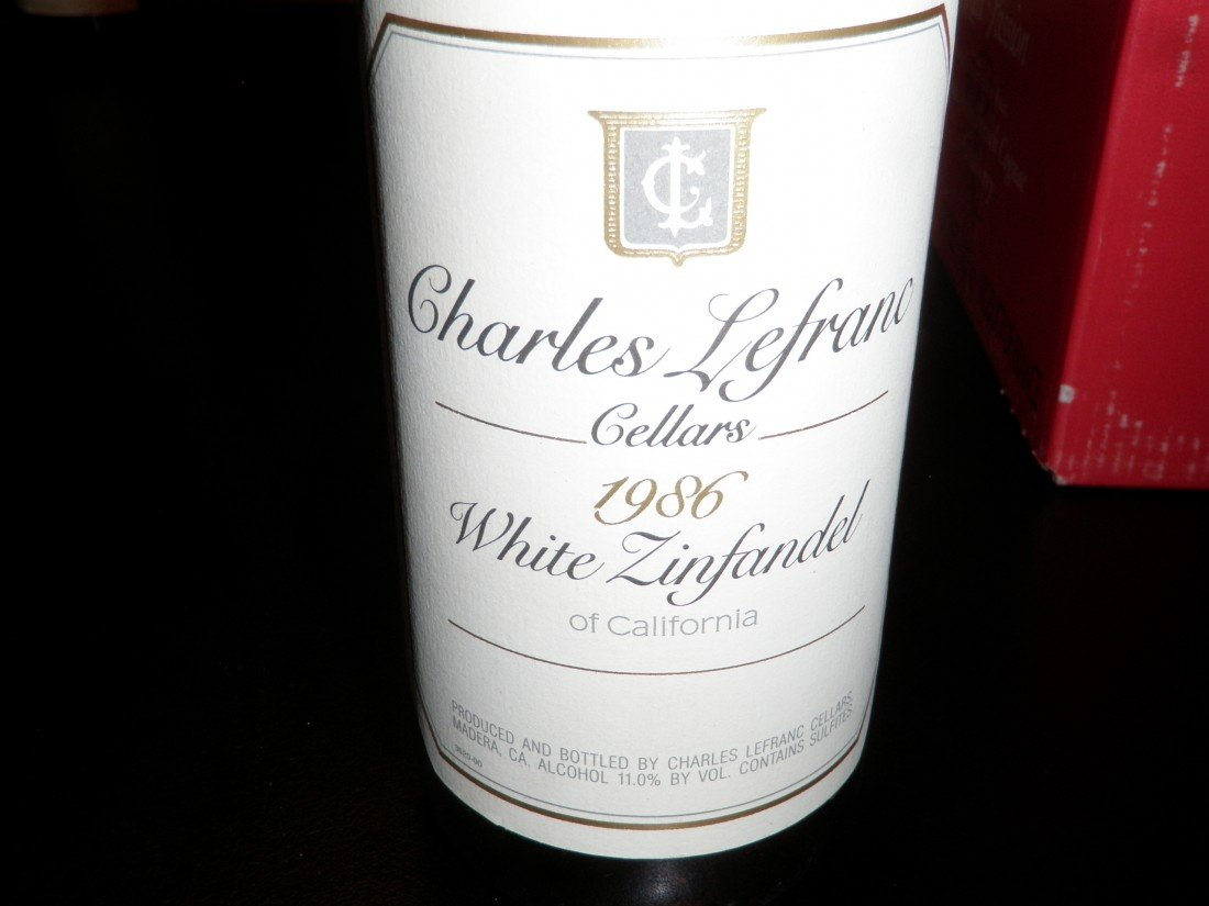 18: White Zinfandel – 1986