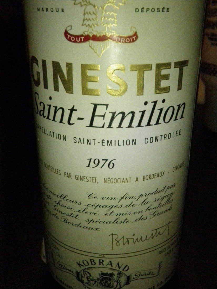 341: Ginestet Saint-Emilion – 1976