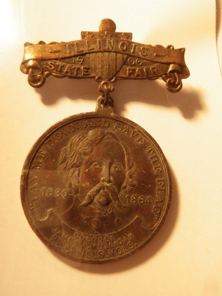 18: Medal, Illinois State Fair