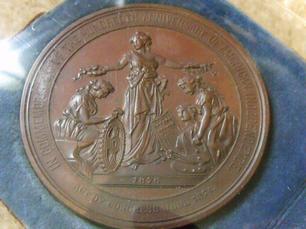 19: Medallion, US 1876