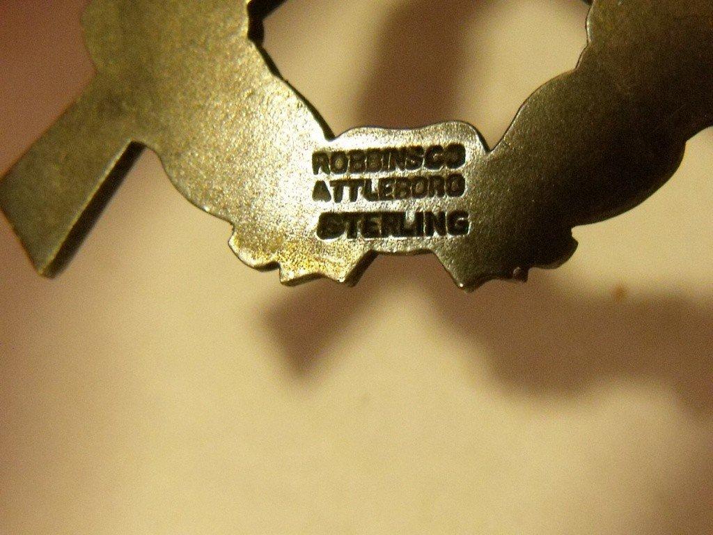 166: Sterling Expert Rifleman Badge - 3