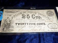 253 North Carolina Broken Bank Note