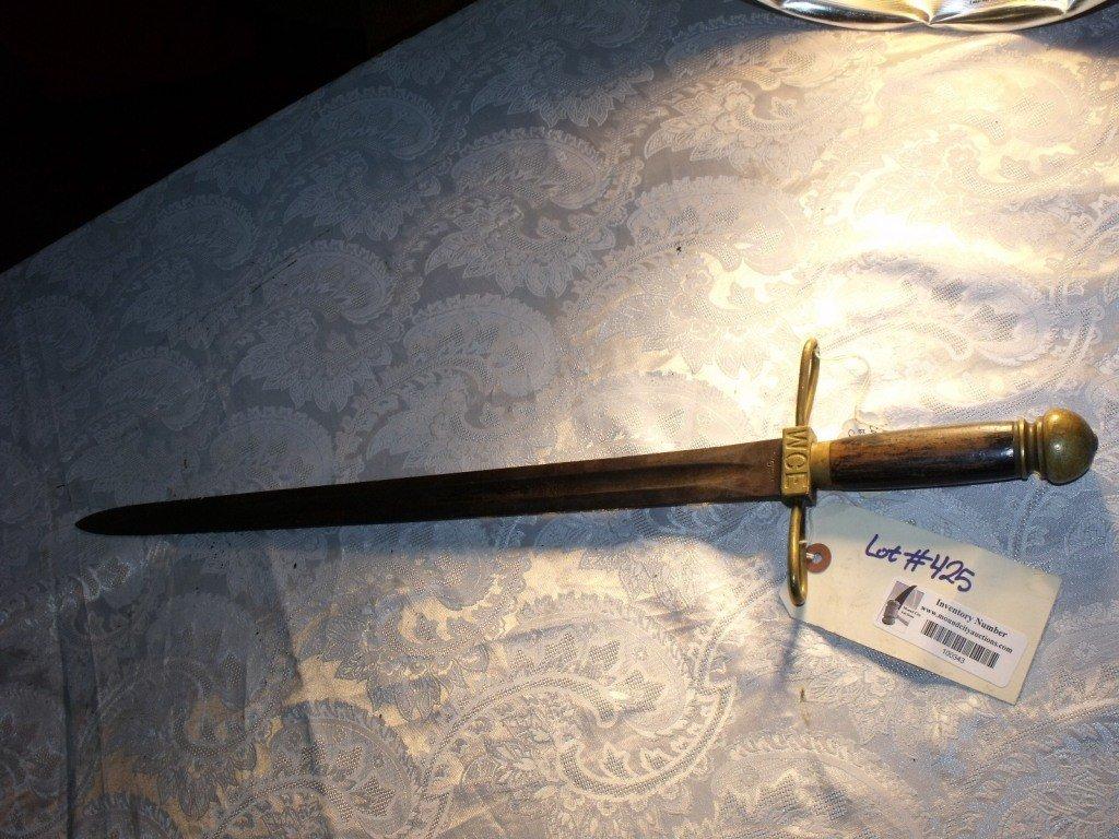 425: Sword, 1893 Worlds Fair