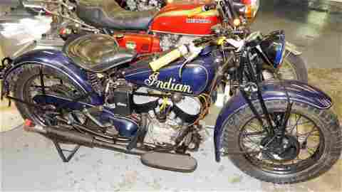 1941 INDIAN 741 JUNIOR MILITARY SCOUT