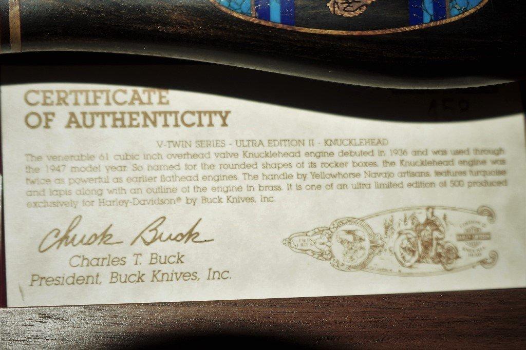 1994 HARLEY-DAVIDSON V-TWIN ULTRA II KNUCKLEHEAD KNIFE - 7