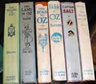6 L Frank Baum Wizard of Oz series books    The Land