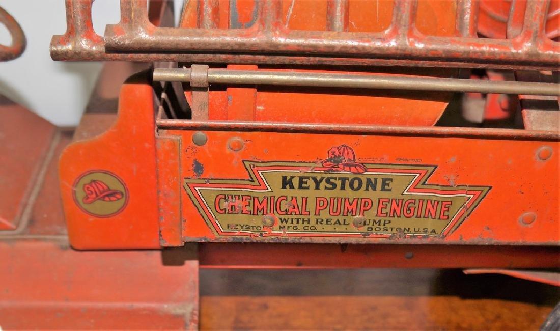 Keystone Chemical Pump Engine Packard Fire Truck, - 10