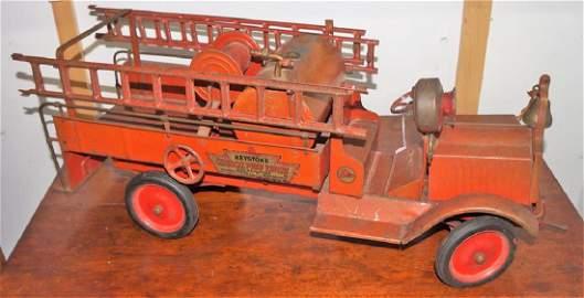 Keystone Chemical Pump Engine Packard Fire Truck,