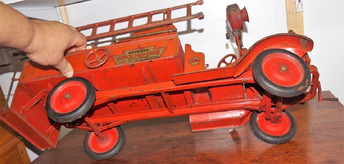 Keystone Chemical Pump Engine Packard Fire Truck, - 5
