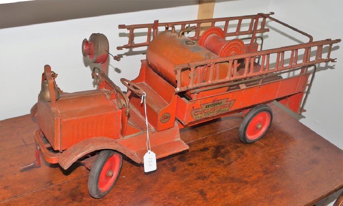 Keystone Chemical Pump Engine Packard Fire Truck, - 7