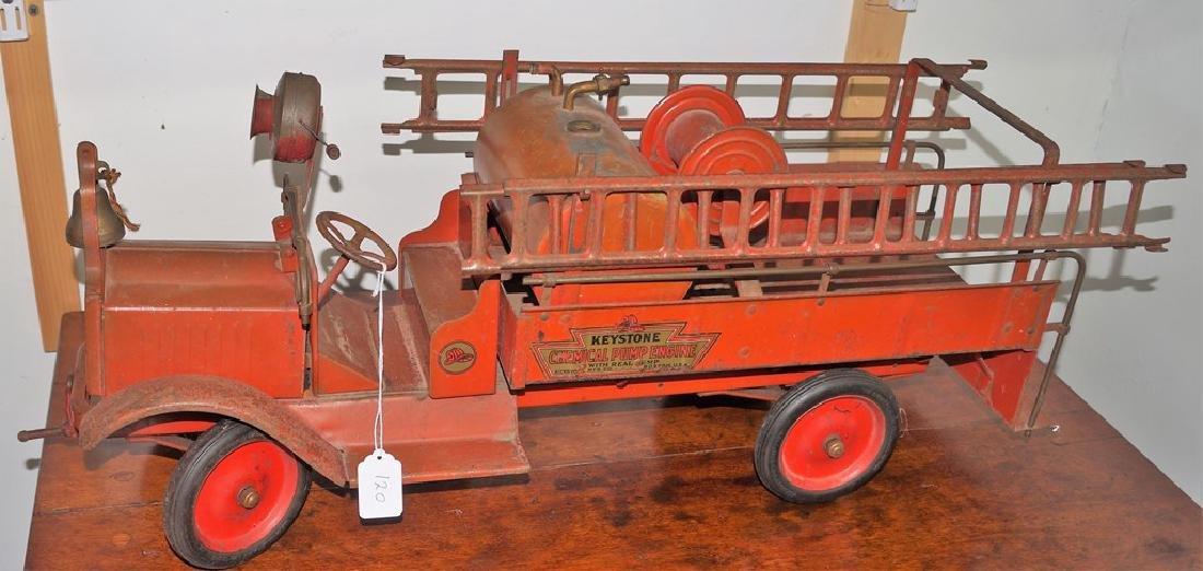 Keystone Chemical Pump Engine Packard Fire Truck, - 8