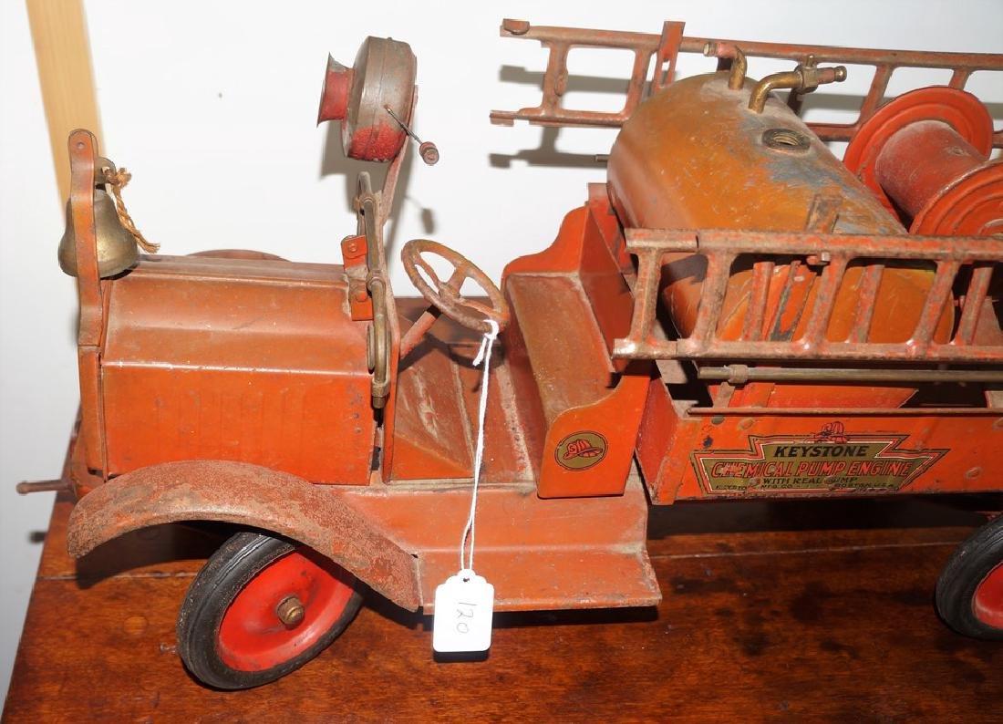 Keystone Chemical Pump Engine Packard Fire Truck, - 9