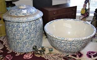 2 pcs of Spongeware incl Ice Water Dispenser bowl
