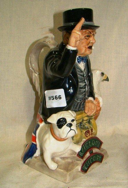 """566: Kevin Francis, Churchill, Eagle & bulldog,, """"Victo"""