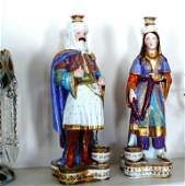 2 Rare Jacob Petit French figural bottles, Sultans