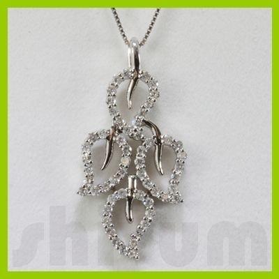Genuine 0.85ctw Diamond Necklace 14k Gold 3.76g