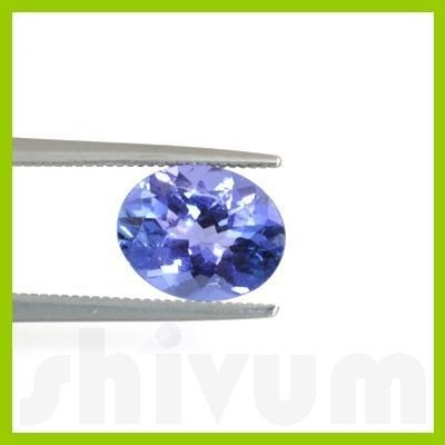 Genuine Natural 2.12 ctw Tanzanite Oval Cut AAA 8x10mm