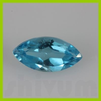 Natural Blue Topaz Marquise Cut 8x16mm @2.5 USD/ct