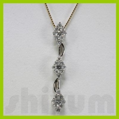 Genuine 0.67ctw Diamond Necklace 14k Gold 1.62g