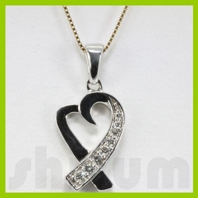 Genuine 0.15ctw Diamond Necklace 14k Gold 2.60g