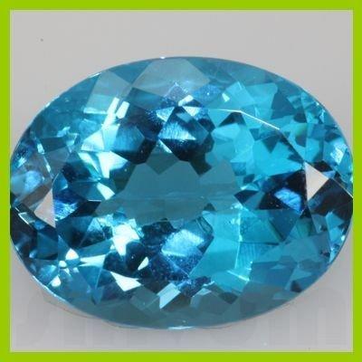 Natural Blue Topaz Oval Cut 189 pcs per lot @2.5 USD/ct