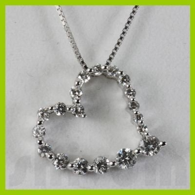 Genuine 0.5ctw Diamond Necklace 14K Gold 1.64g