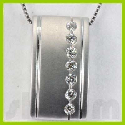 Genuine 0.22ctw Diamond Necklace 14K Gold 4.04g