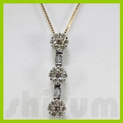 Genuine 0.81ctw Diamond Necklace 14k Gold 2.04g