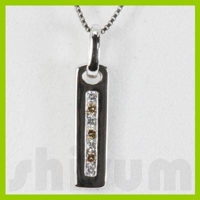 Genuine 0.1ctw Diamond Necklace 14K Gold 1.22g