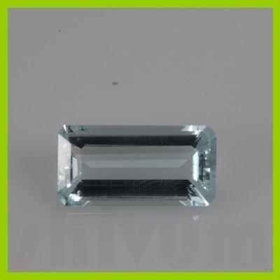 Natural Aqua Marine Emerald Cut 1 pc per lot @55 USD/ct
