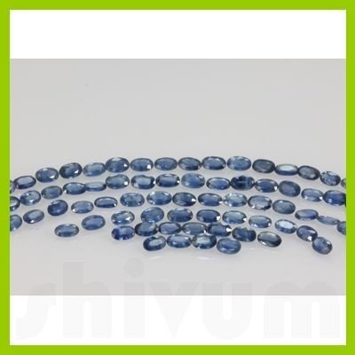 Natural Light Blue Sapphire Oval Cut 60 pcs/lot @$10/ct