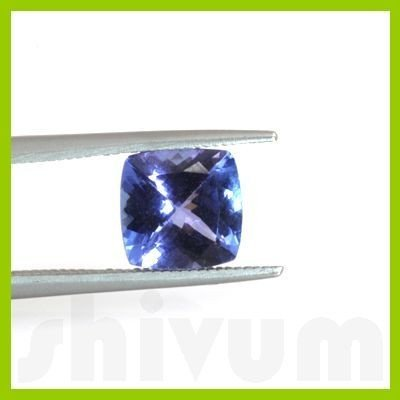 Genuine Natural 2.12 ctw Tanzanite Square Cut AAA 8x8mm
