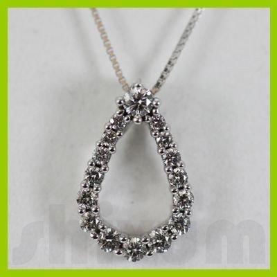 Genuine 0.5ctw Diamond Necklace 14k Gold 1.59g