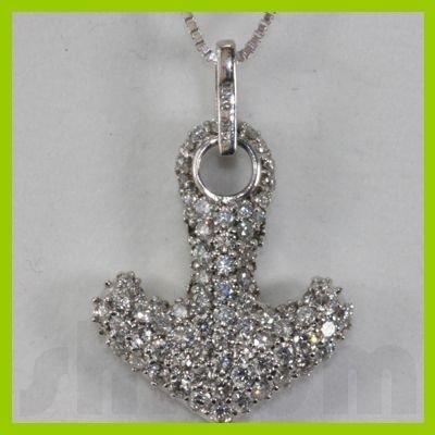 Genuine 0.58ctw Diamond Necklace 14k Gold 2.52g