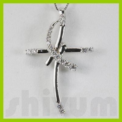 Genuine 0.45ctw Diamond Necklace 14K Gold 4.22g