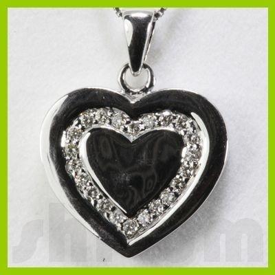Genuine 0.25ctw Diamond Necklace 14K Gold 3.78g