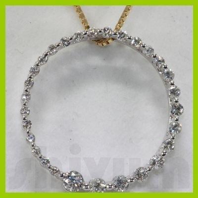 Genuine 0.38ctw Diamond Necklace 14K Gold 1.47g