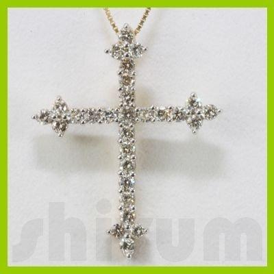 Genuine 1ctw Diamond Necklace 14k Gold 2.74g