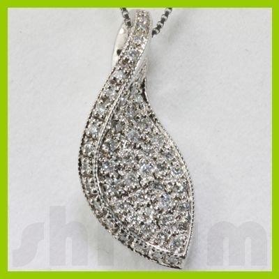 Genuine 0.37ctw Diamond Necklace 14K Gold 3.45g