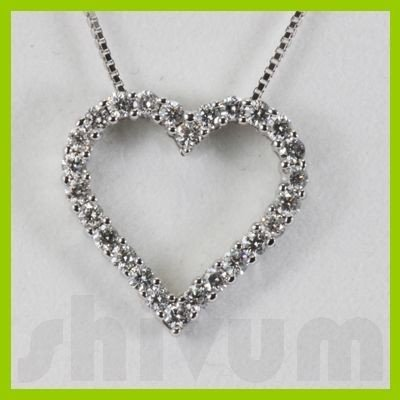 Genuine 0.51ctw Diamond Necklace 14K Gold 1.48g