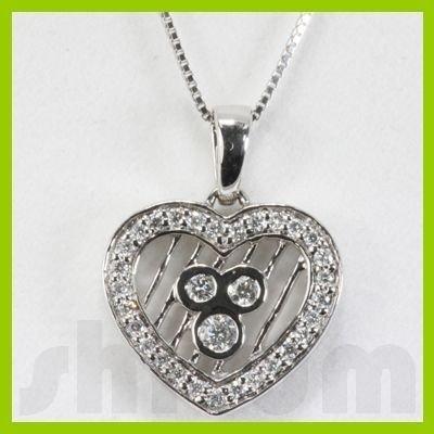 Genuine 0.31ctw Diamond Necklace 14K Gold 2.29g