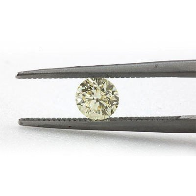 Natural 0.52 ctw Fancy Yellow Diamond Loose 1 I1