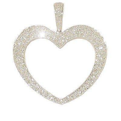 Genuine 18k Pendant 91 Diamonds 59 Pts Necklace